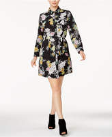 Maison Jules Floral-Print Shirtdress, Created for Macy's