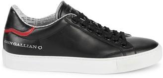 John Galliano Leather Sneakers