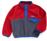 Patagonia Infant Boy's Synchilla Snap-T Fleece Pullover