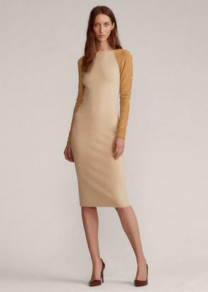 Ralph Lauren Merino Wool Crewneck Dress