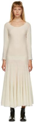 Marni Off-White Cashmere Dress