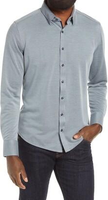Stone Rose Button-Up Shirt