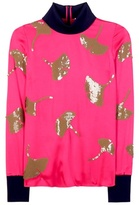 3.1 Phillip Lim Embellished Satin Sweater