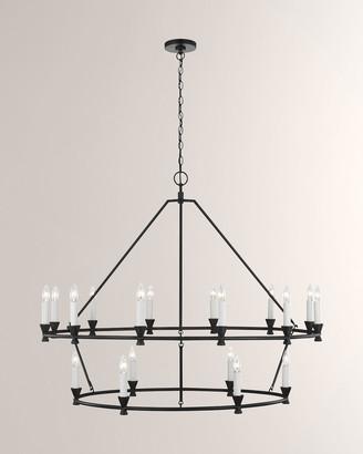 Key Stone Chapman & Myers Keystone 18-Light Chandelier
