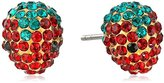 Marc Jacobs MJ Coin Strawberry Stud Earrings