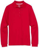Izod Long-Sleeve Polo Shirt - Girls 4-18