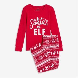 Joe Fresh Toddler Girls' 2 Piece Sleep Set, Red (Size 5)