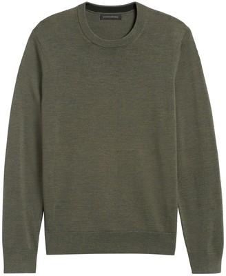 Banana Republic Italian Merino Crew Sweater-Neck Sweater