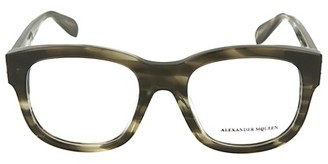 Alexander McQueen 53MM Square Optical Glasses