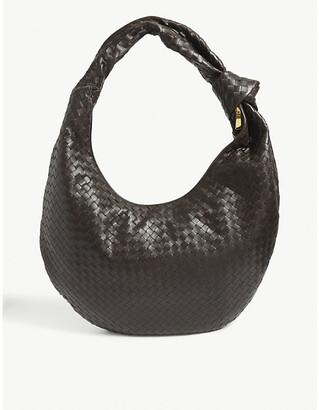 Bottega Veneta Maxi Jodie intrecciato leather hobo bag
