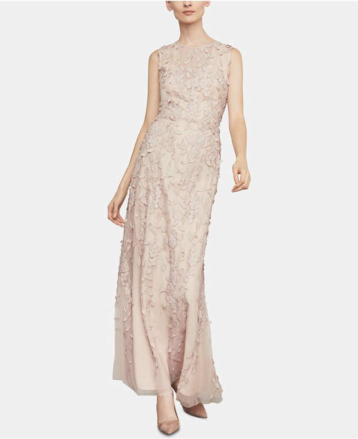 BCBGMAXAZRIA Embroidered Lace Dress