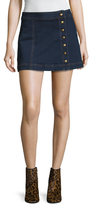 Free People Denim Mini Skirt
