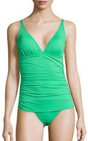 Tommy Bahama Pearl Ruched One-Piece Swimsuit