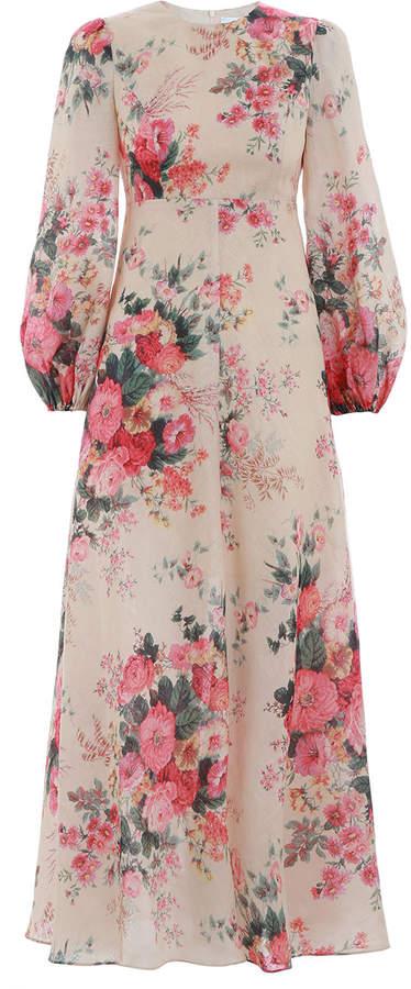 Zimmermann Laelia High Neck Dress