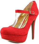 Material Girl Koko Women US 8.5 Red Platform Heel