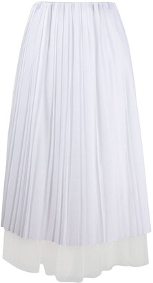 Fabiana Filippi Layered Midi Skirt