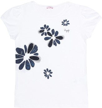 Il Gufo Printed cotton T-shirt