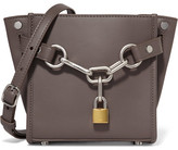 Alexander Wang Attica Chain Mini Leather Shoulder Bag - Gray