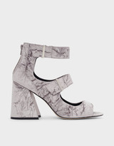 Charles & KeithCharles & Keith Thick Strap Heeled Sandals