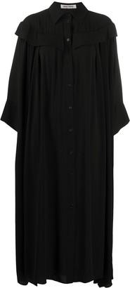 Henrik Vibskov Smocked Shirt Dress