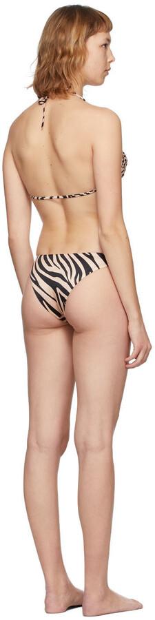 Thumbnail for your product : BOUND by Bond-Eye Beige Zebra High Score Multiway/Sleeker Bikini