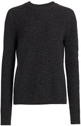 Acne Studios Alpaca & Wool Ribbed Sweater