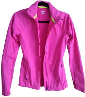 Asics Pink Polyester Jackets