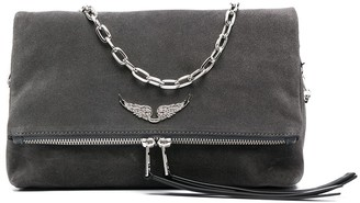 Zadig & Voltaire Rocky suede shoulder bag