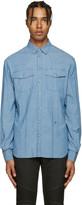 Pierre Balmain Blue Chambray Shirt