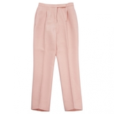 Valentino Pink Wool Trousers