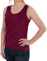 August Silk Knit Sleeveless Top - Silk Blend (For Women)