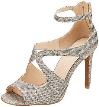 Karen Millen Women's Ella Night Ankle Strap Heels, (Gold Gld), 7 (40 EU)