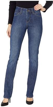 Jag Jeans Opal Straight Jeans (Blue Shadow) Women's Jeans