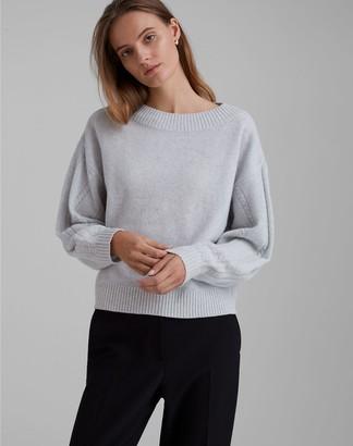 Club Monaco Cable Sleeve Sweater