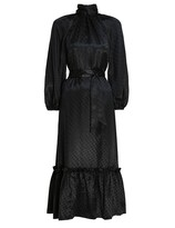 Zimmermann Wavelength Twist Neck Dress