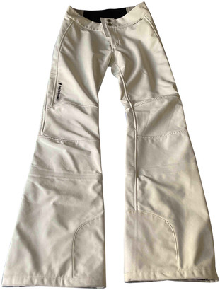 Peak Performance White Synthetic Trousers