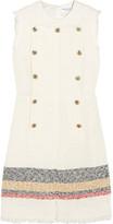 Sonia Rykiel Embellished bouclé-tweed mini dress