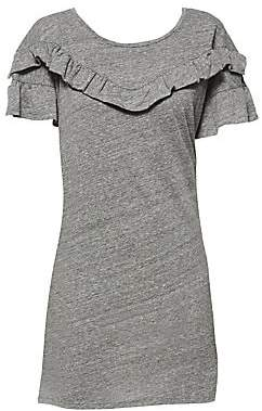 Paige Women's Adalie Ruffle T-Shirt Dress