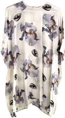 Richard Nicoll Beige Silk Dress for Women