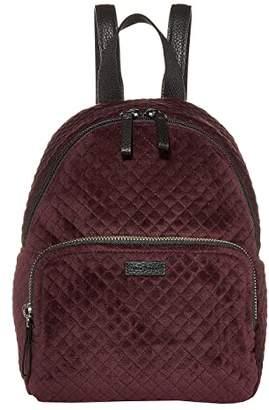Vera Bradley Iconic Mini Backpack (Blackberry Wine) Backpack Bags