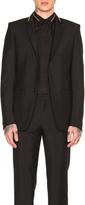 Givenchy Slim Fit Zip Collar Blazer