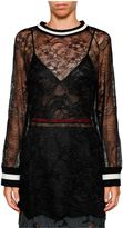 Aviu Sheer Lace T-shirt