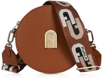 Furla Sleek Mini Round Crossbody Bag