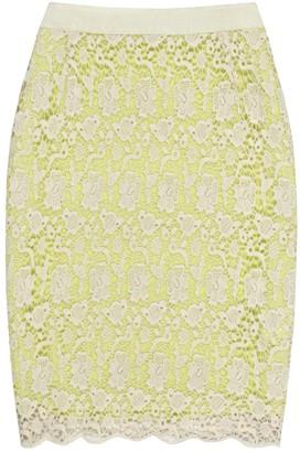 Reiss Green Cotton Skirt for Women