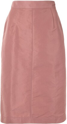 No.21 High-Waisted Pencil Skirt