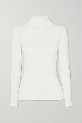 Fusalp Alisier Ii Modal-blend Turtleneck Top - White