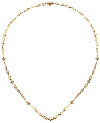 Etho Maria Noble 18K Rose Gold & Brown Diamond Necklace