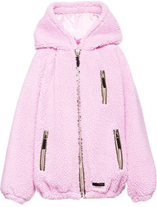 Miu Miu Teddy Bear Blouson Jacket