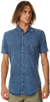 Zanerobe 7ft Ss Mens Shirt Blue