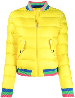Perfect Moment Rainbow Bomber Jacket